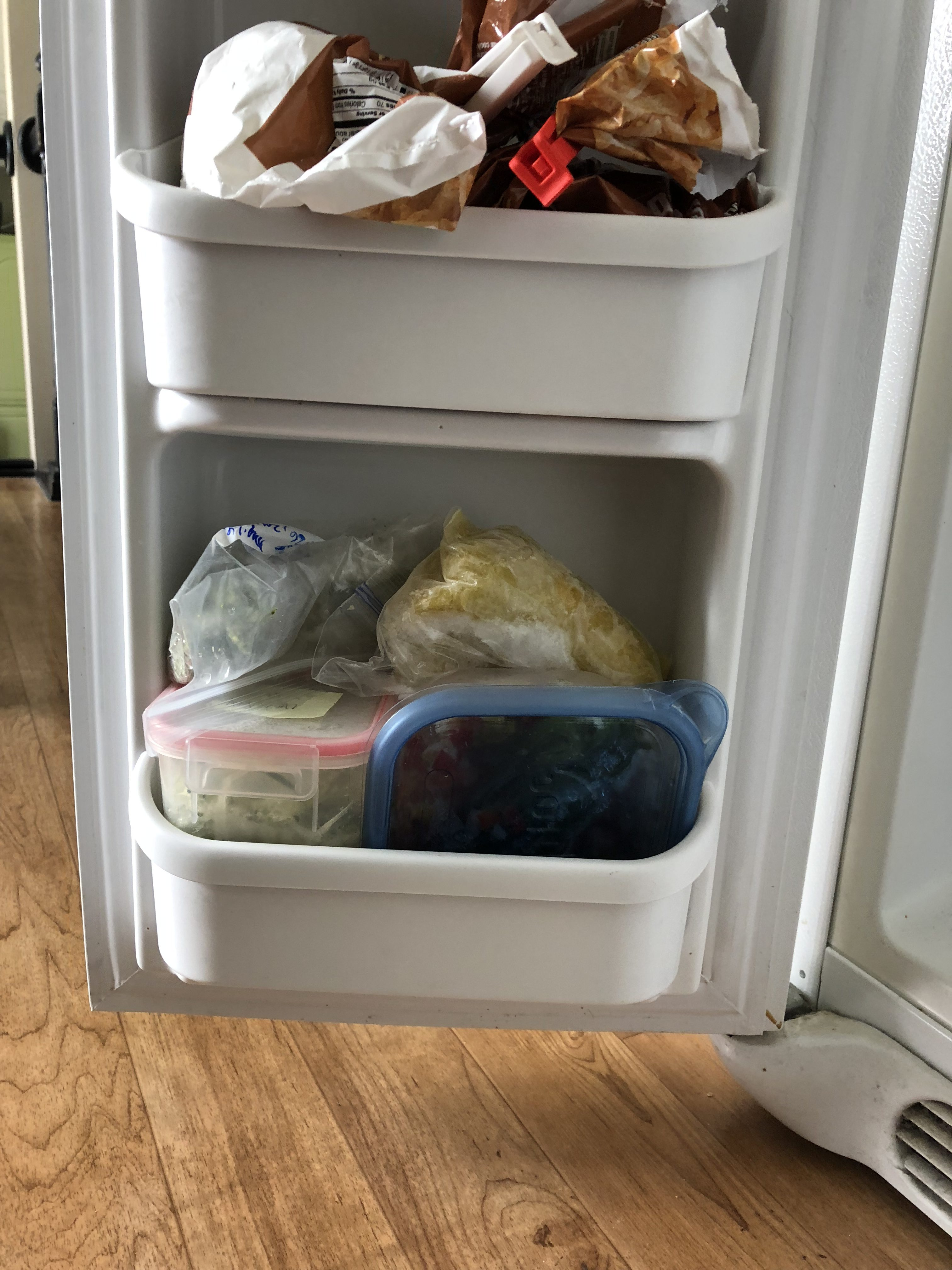 How I Organized My Freezer Spur of the Moment
