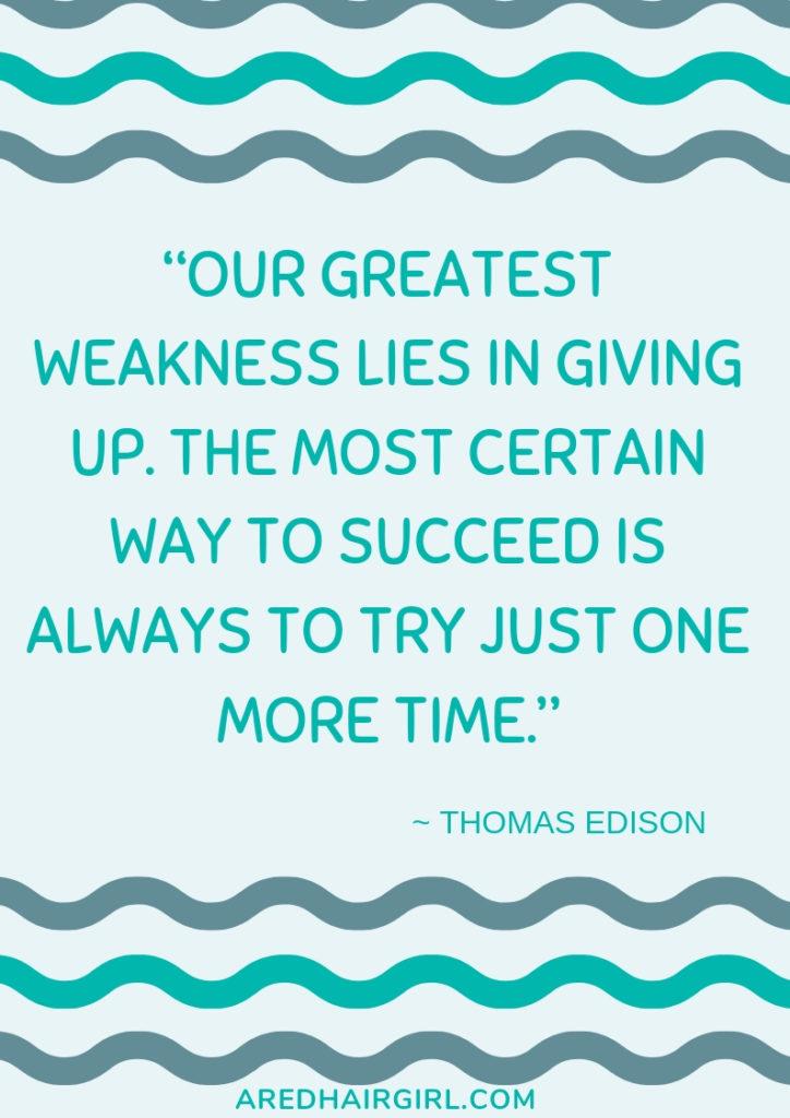 Greatest Weakness